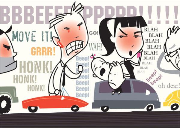 driving aggression rage