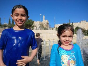 traveling with children old city Jerusalem